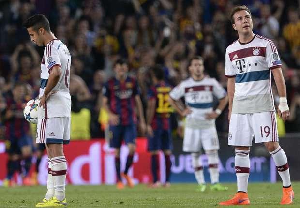 Bayern Munich 0 - 1 Augsburg (Đức 2014-2015, vòng 32)