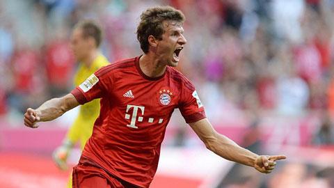 Bayern Munich 3 - 0 Bayer Leverkusen (Đức 2015-2016, vòng 3)