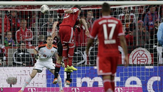 Bayern Munich 2-1 Bayer Leverkusen (Germany Bundesliga 2013-2014, round 25)