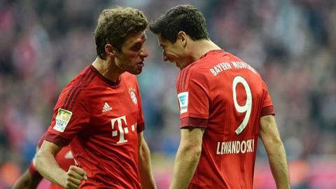 Bayern Munich 5 - 1 Borussia Dortmund (Đức 2015-2016, vòng 8)