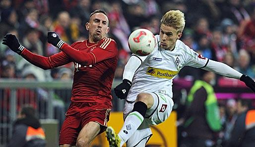 Bayern Munich 0 - 2 Monchengladbach (Đức 2014-2015, vòng 26)