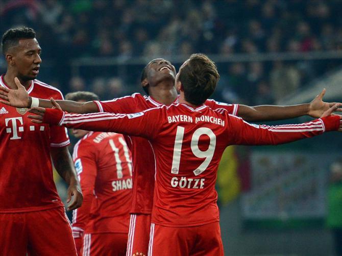 Bayern Munich 4 - 0 SC Paderborn 07 (Đức 2014-2015, vòng 5)