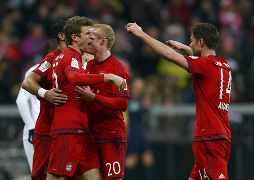 Bayern Munich 5 - 0 Werder Bremen (Đức 2015-2016, vòng 26)