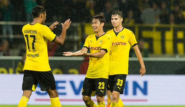 Borussia Dortmund 3 - 1 Hertha Berlin (Đức 2015-2016, vòng 3)