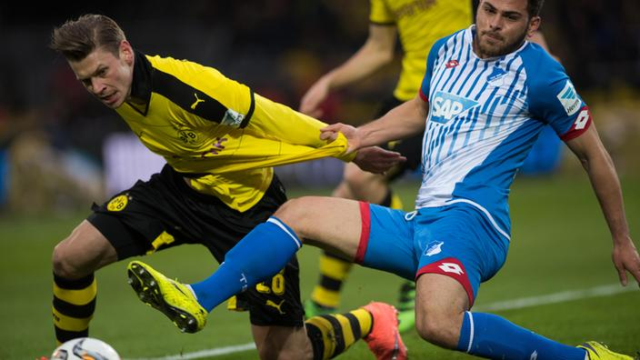 Borussia Dortmund 3 - 1 Hoffenheim (Đức 2015-2016, vòng 23)