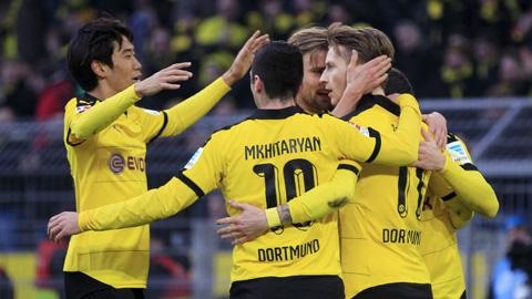 Borussia Dortmund 2 - 0 Mainz 05 (Đức 2015-2016, vòng 26)