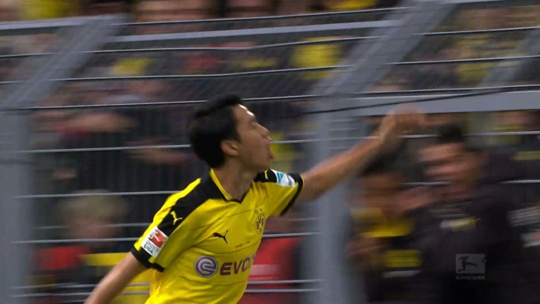 Borussia Dortmund 3 - 2 Schalke 04 (Đức 2015-2016, vòng 12)