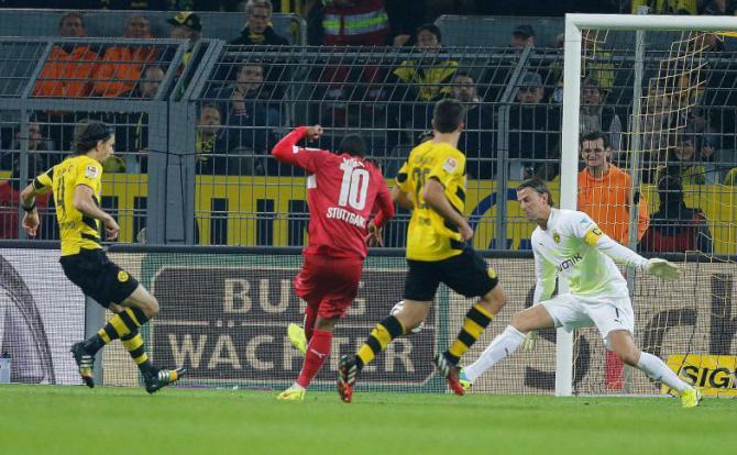 Borussia Dortmund 2 - 2 VfB Stuttgart (Đức 2014-2015, vòng 5)