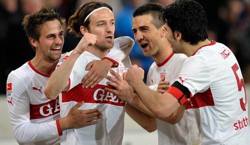 Eintr. Frankfurt 4 - 5 VfB Stuttgart (Đức 2014-2015, vòng 9)