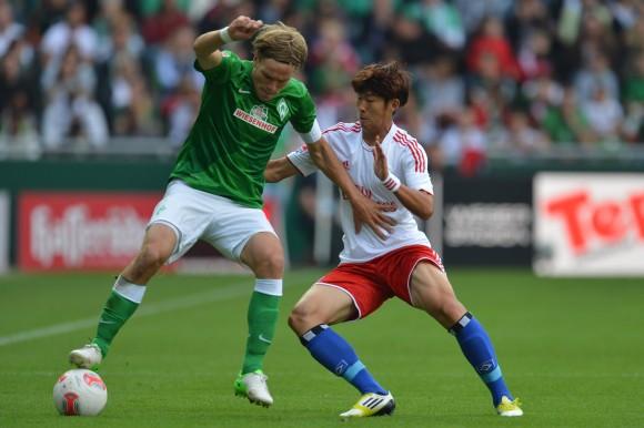Hamburger 2 - 0 Werder Bremen (Đức 2014-2015, vòng 12)