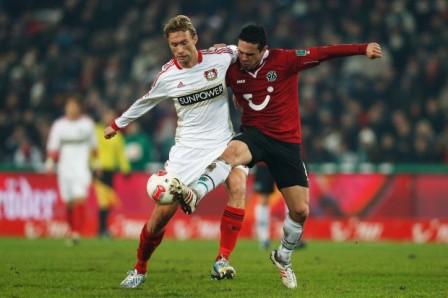 Hannover 96 1 - 3 Bayer Leverkusen (Đức 2014-2015, vòng 12)