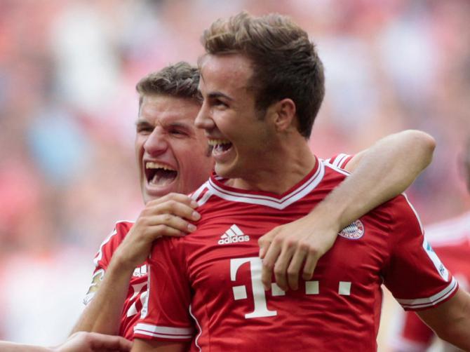 Koln 0 - 2 Bayern Munich (Đức 2014-2015, vòng 6)