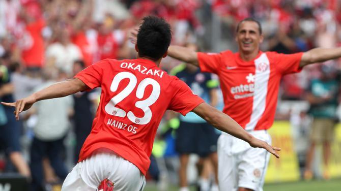 Mainz 05 2 - 0 Borussia Dortmund (Đức 2014-2015, vòng 4)
