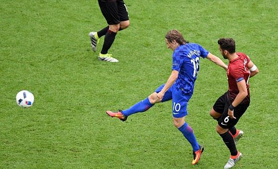 Croatia 1 - 0 Thổ Nhĩ Kỳ (Euro 2016, vòng )