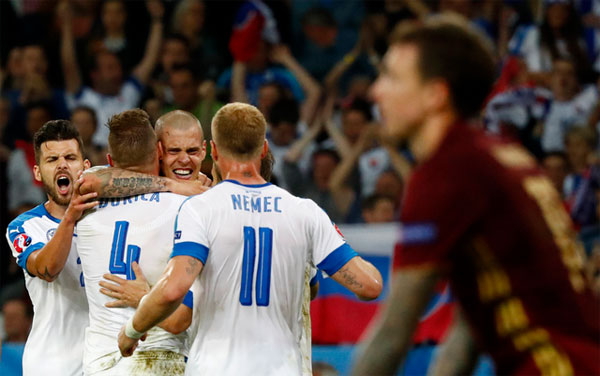 Nga 1 - 2 Slovakia (Euro 2014-2016, vòng bảng)