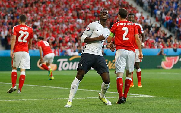 Pháp 0 - 0 Thụy Sỹ (Euro 2014-2016, vòng bảng)
