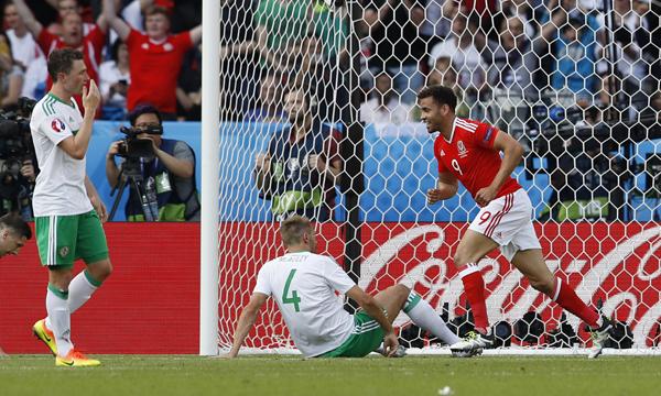 Xứ Wales 1 - 0 Bắc Ireland (Euro 2016, vòng )