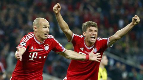 Bochum 1 - 5 Bayern Munich (Giao Hữu 2014, vòng tháng 1)