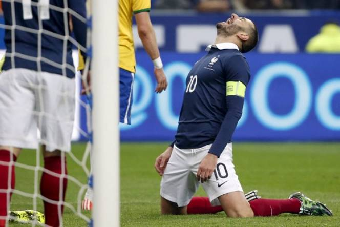 France 2 - 0 Đan Mạch (Giao Hữu 2014, vòng )