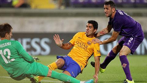 Fiorentina 2 - 1 Barcelona (International Champions Cup 2015, vòng )