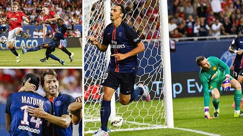 Manchester United 0 - 2 Paris Saint Germain (International Champions Cup 2014, vòng )