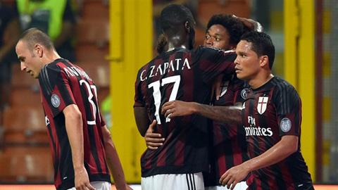 AC Milan 2 - 1 Empoli (Italia 2015-2016, vòng 2)