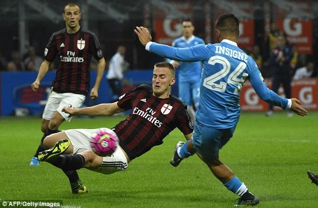 AC Milan 0 - 4 Napoli (Italia 2015-2016, vòng 7)