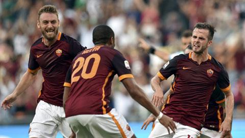AS Roma 2 - 1 Juventus (Italia 2015-2016, vòng 2)