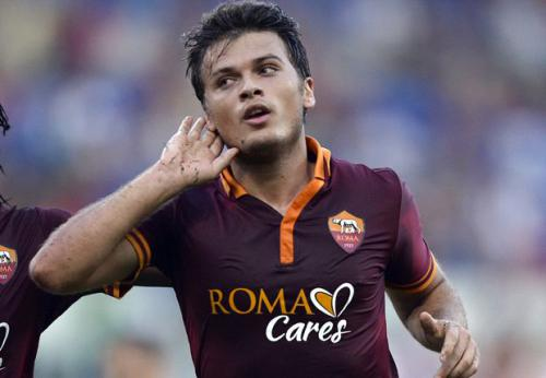 Atalanta 1 - 2 AS Roma (Italia 2014-2015, vòng 12)