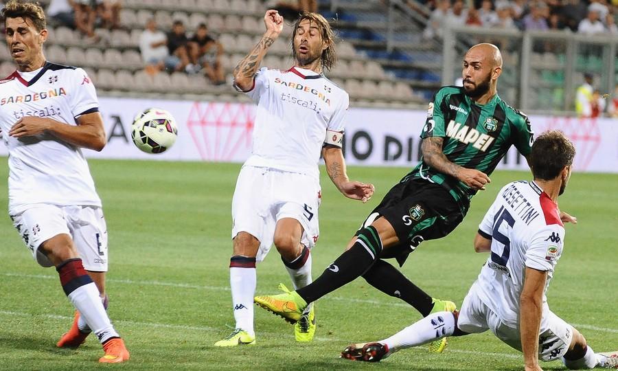 Cagliari 2 - 1 US Sassuolo Calcio (Italia 2014-2015, vòng )