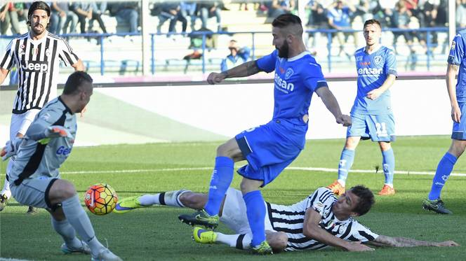 Empoli 1 - 3 Juventus (Italia 2015-2016, vòng 12)