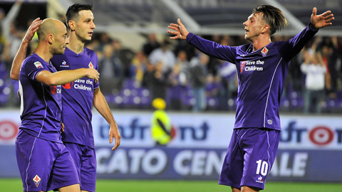Fiorentina 3 - 0 Atalanta (Italia 2015-2016, vòng 7)