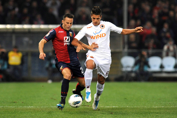 Genoa 0 - 1 AS Roma (Italia 2014-2015, vòng 15)