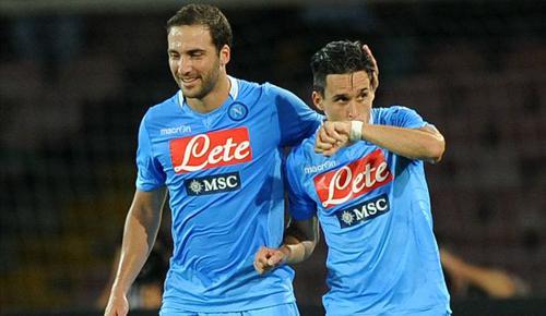 Inter Milan 2 - 2 Napoli (Italia 2014-2015, vòng 7)