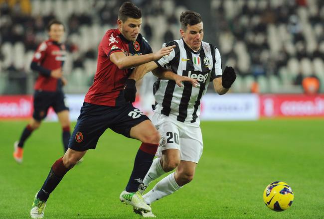 Juventus 1 - 1 Cagliari (Italia 2014-2015, vòng 35)