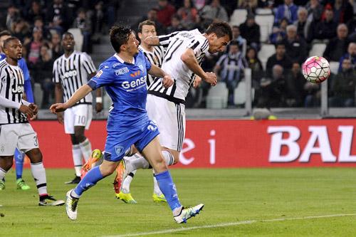 Juventus 1 - 0 Empoli (Italia 2015-2016, vòng 31)