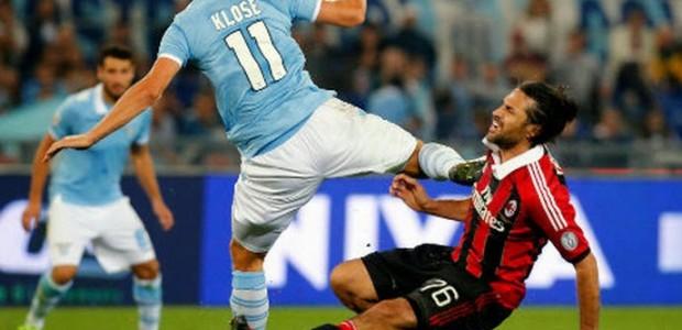 Lazio 3 - 1 AC Milan (Italia 2014-2015, vòng )