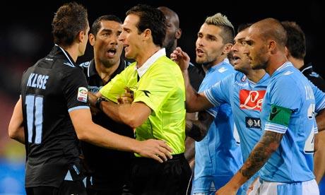 Lazio 0 - 1 Napoli (Italia 2014-2015, vòng )