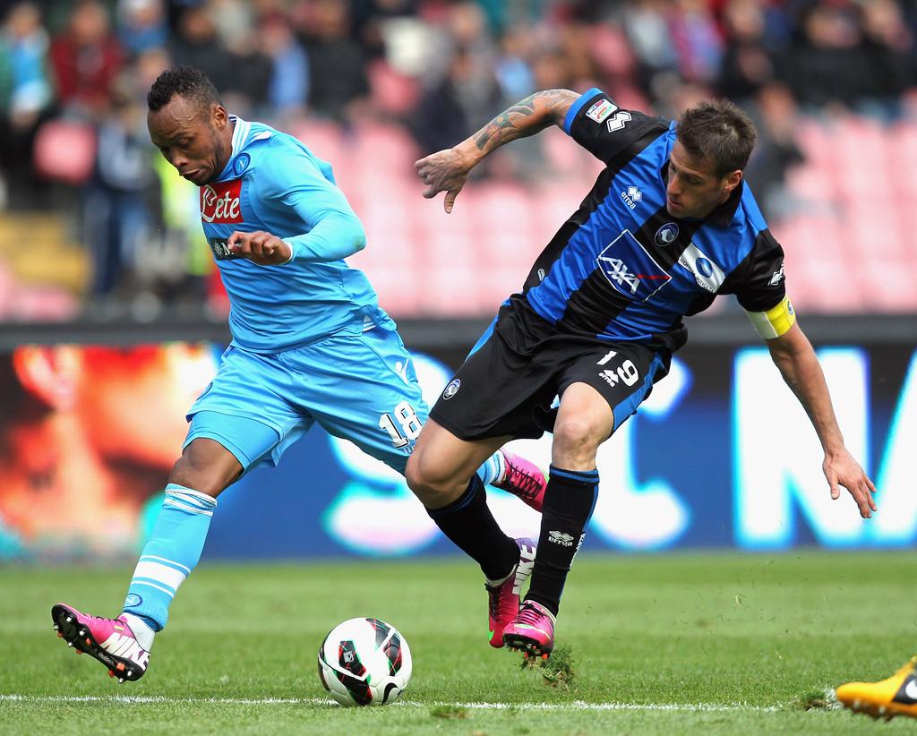 Napoli 1 - 1 Atalanta (Italia 2014-2015, vòng 28)