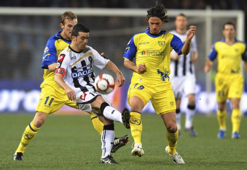 Udinese 1 - 1 Chievo (Italia 2014-2015, vòng 12)