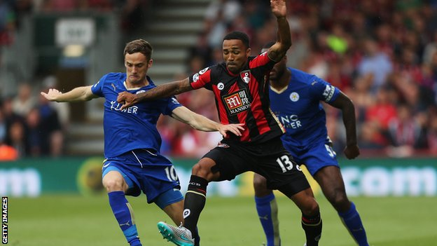 AFC Bournemouth 1 - 1 Leicester City (Ngoại Hạng Anh 2015-2016, vòng 4)