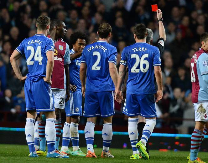 Aston Villa 1-0 Chelsea (English Premier League 2013-2014, round 30)