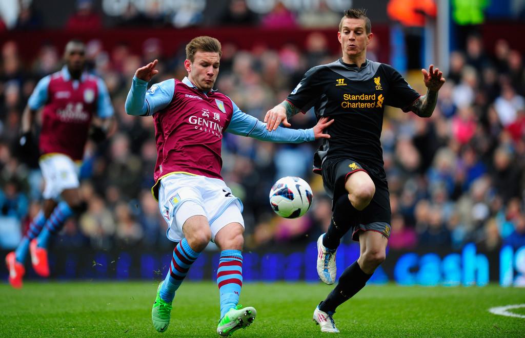 Aston Villa 0 - 2 Liverpool (Ngoại Hạng Anh 2014-2015, vòng 22)