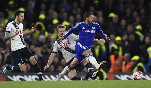 Chelsea 2 - 2 Tottenham Hotspur (Ngoại Hạng Anh 2015-2016, vòng 36)