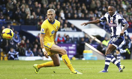 Crystal Palace 0 - 2 West Bromwich (Ngoại Hạng Anh 2014-2015, vòng 33)