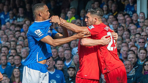 Everton 1 - 1 Liverpool (Ngoại Hạng Anh 2015-2016, vòng 8)