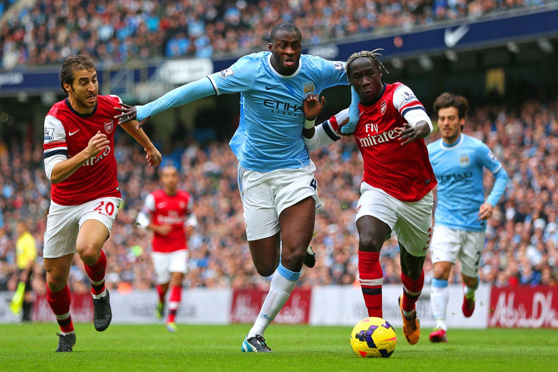 Manchester City 0 - 2 Arsenal (Ngoại Hạng Anh 2014-2015, vòng 22)