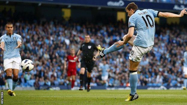 Manchester City 3 - 0 West Bromwich (Ngoại Hạng Anh 2014-2015, vòng )