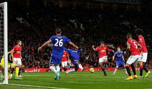 Manchester United 1 - 1 Chelsea (Ngoại Hạng Anh 2014-2015, vòng 9)