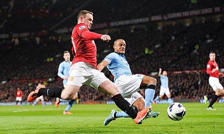 Manchester United 4 - 2 Manchester City (Ngoại Hạng Anh 2014-2015, vòng 32)